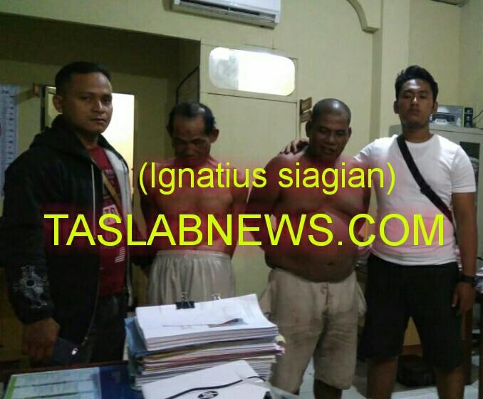 Tersangka penjual narkoba fi Tanjungbalai.