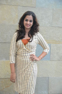Nandita Raj in Short Dress at International DJ Musical Concert Curtain Raiser Press Meet