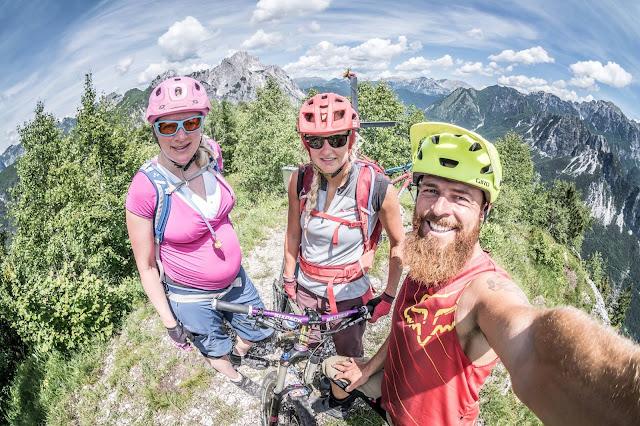 Sport im letzten Trimester der Schwangerschaft Update Mountainbike