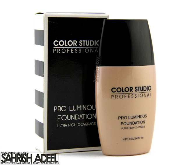 Pro Luminous Foundation in 'Natural Skin' by Color Studio Professional - Review & Swatch
