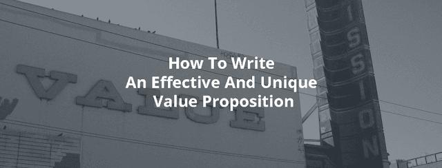 Sebab Value Proposition Dapat Menghasilkan Conversion