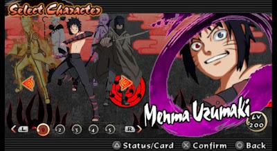 Naruto Ultimate Ninja Impact Mod Texture Menma Replace Naruto