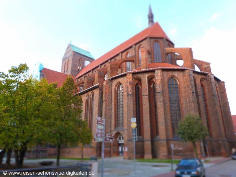Sehenswürdigkeiten Wismar St. Nikolai Kirche Wismar
