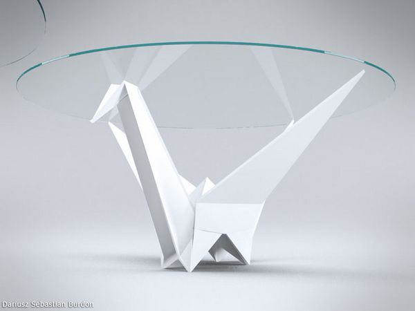 Origami Inspire Table Design