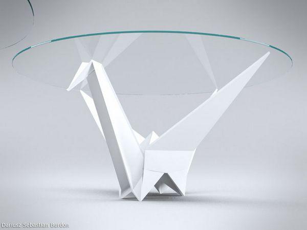 Origami Inspire Table Design