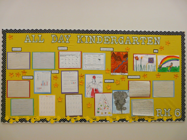 Kindergarten Bulletin Board Ideas