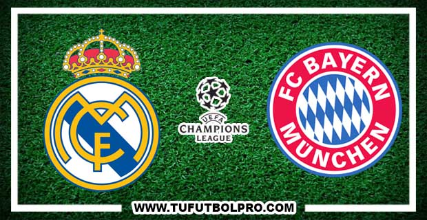 Ver Real Madrid vs Bayern Munich EN VIVO Por Internet Hoy 18 de Abril 2017