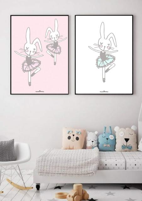 pastelowe plakaty dla dzieci do druku za darmo