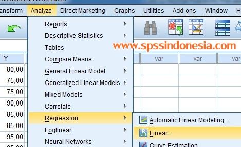 Cara Uji Normal Probability Plot dalam Model Regresi dengan SPSS