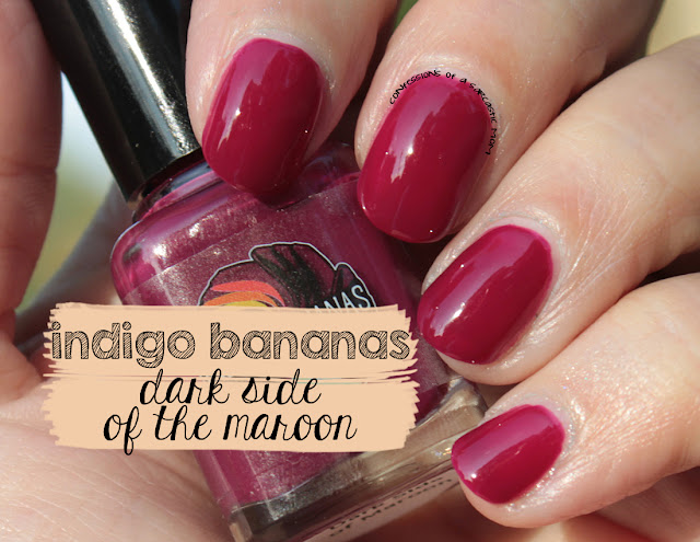 Indigo Bananas Dark Side of the Maroon
