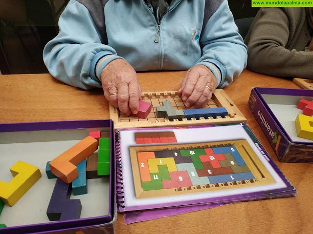 Aprender jugando llega al centro de día de Tijarafe