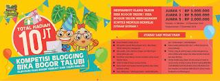 Lomba Menulis Blog Total Hadiah 10 Juta - Bika Bogor Talubi