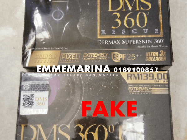 DMS 360 Dermax Superskin 360 Original Tiada Hologram