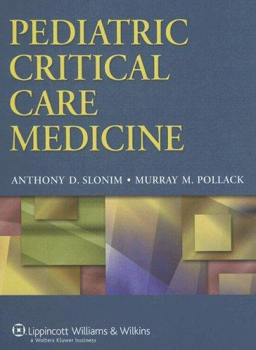 Slonim Pollack – Giáo trình Hồi sức Nhi khoa