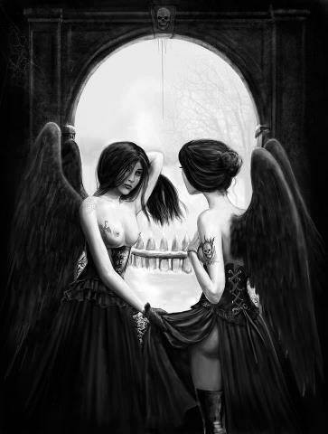 optical-illusion-skull-or-winged-ladies