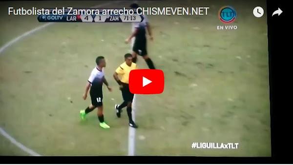 "Futbolista del Zamora golpeó a un ""frágil"" árbitro de fútbol"