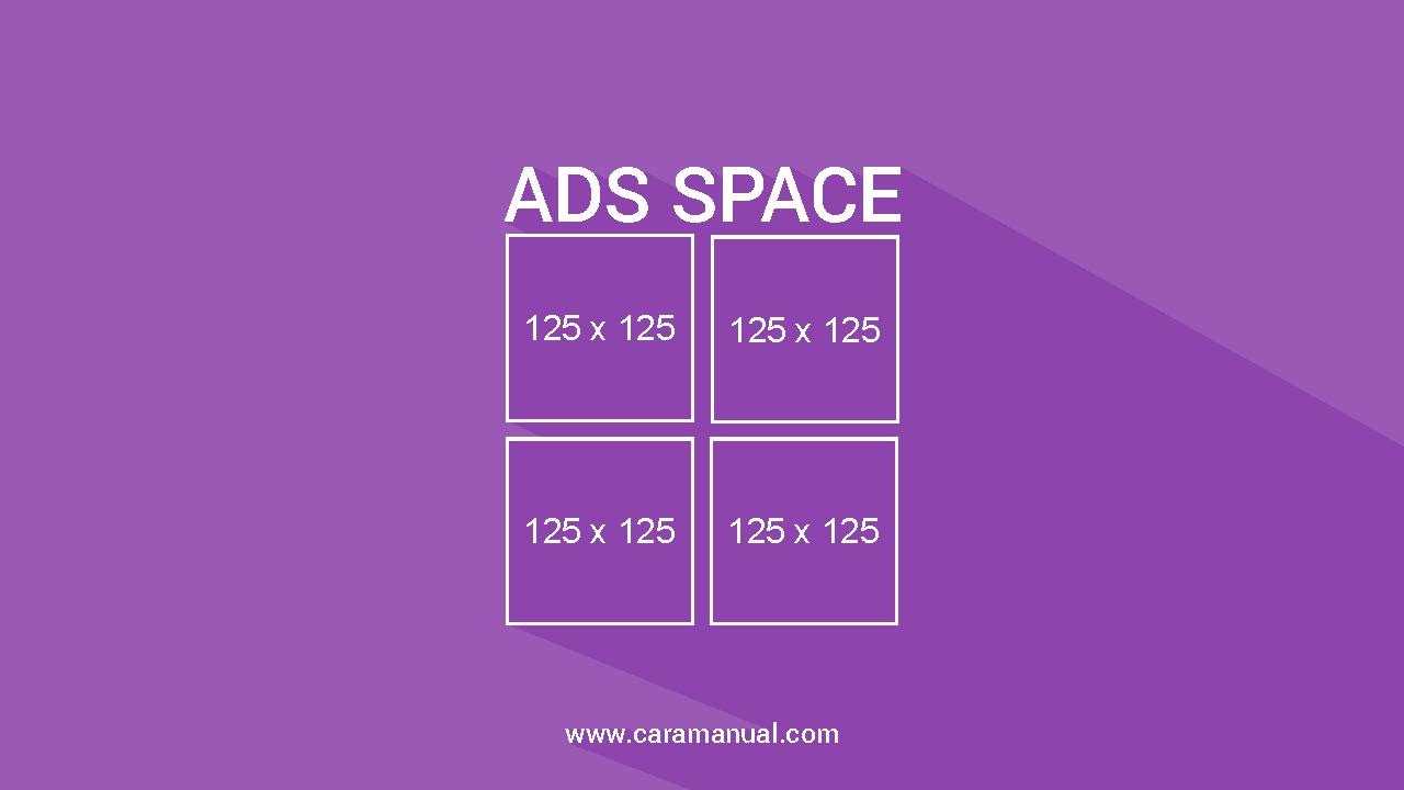 Cara Membuat Kotak Banner Iklan di Blog