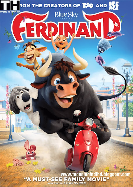 Ferdinand Full Movie In HINDI Dubbed [HD 720p] Dual Audio (HINDI-ENG) Watch Online