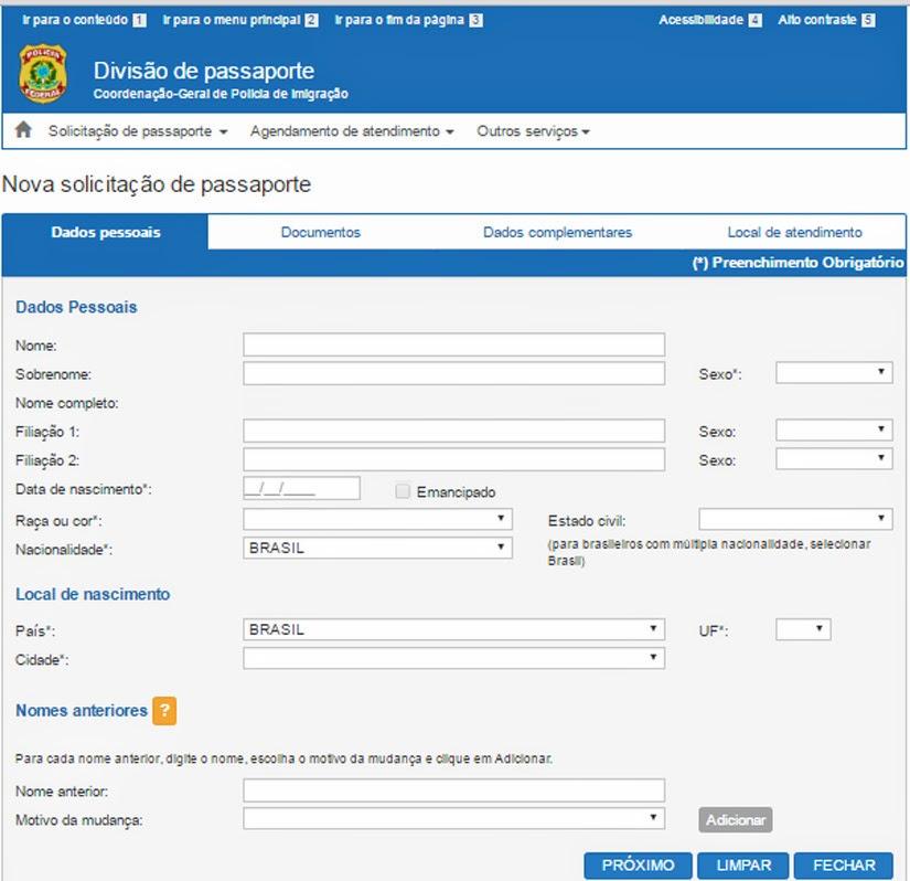 Guia para emissão do passaporte - como tirar passaporte