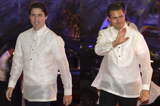 Canadian Prime Minister Justin Trudeau and Mexican President Enrique Peña Nieto