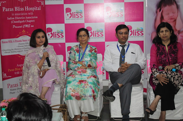 Paras Bliss Hospital, Panchukula, Brings Together Health Professionals to Discuss the 'Need for Breastfeeding Rooms in Public Places'