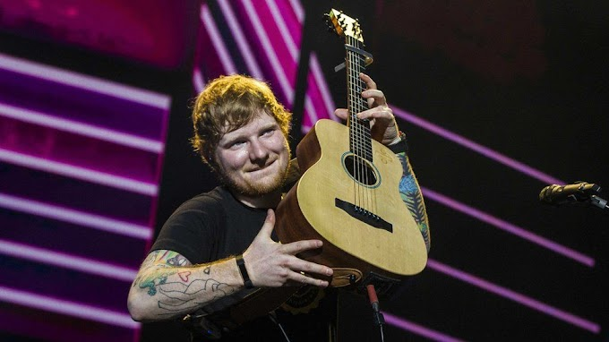 Ed Sheeran left with 'Galway grill' after tattoo typo