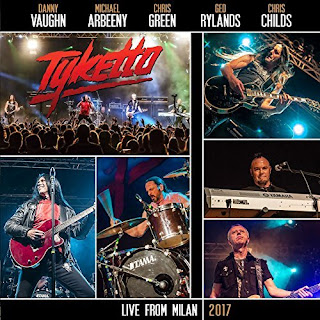 """Tyketto - """"Wings"""" (video) from the album """"Live from Milan"""""""