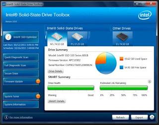 مجموعة, أدوات, إنتل, لتحسين, أداء, الأقراص, الصلبة, SSD, أو, HDD