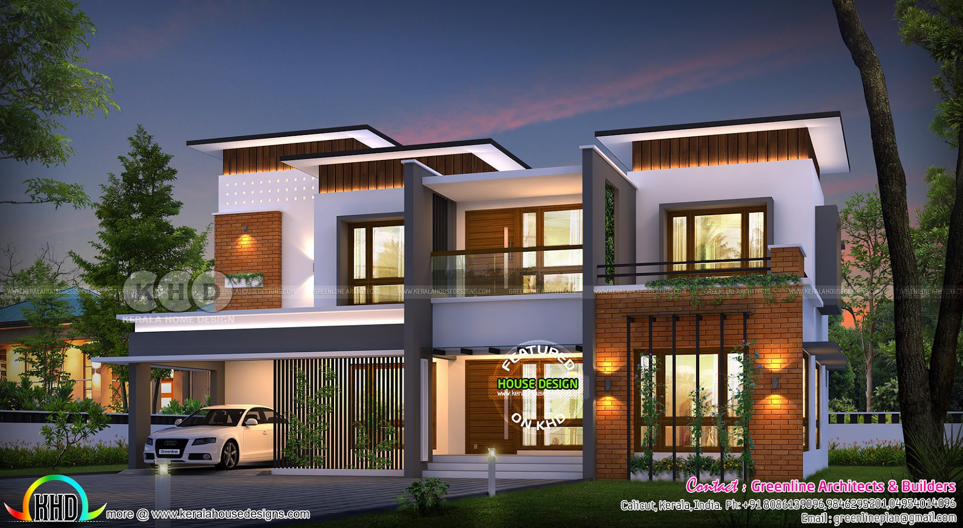 5 bedroom 3600 square feet modern contemporary house ...