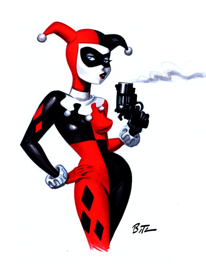 It S My World Thoughts Without Words Harley Quinn S New