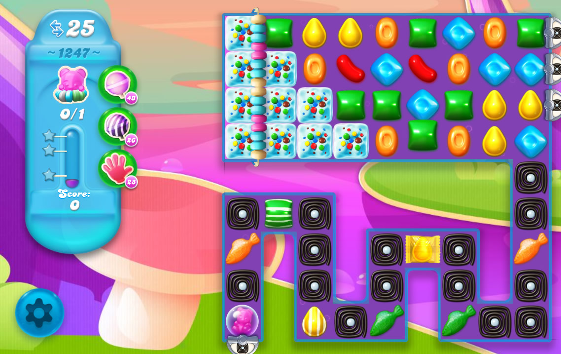 Candy Crush Soda Saga level 1247