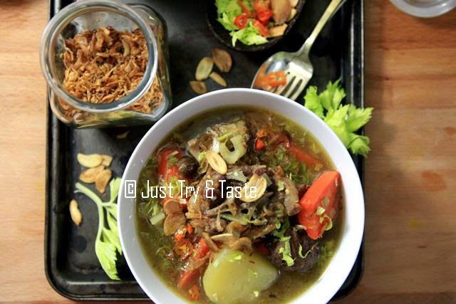 Sup Buntut Super Nendang Just Try Taste