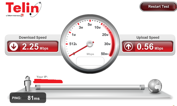 Cara Test Kecepatan Internet