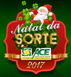 Promoção ACE Três Corações Natal 2017 da Sorte Prêmios