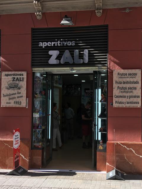Aperitivos Zali