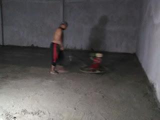 Pengerjaan Finishing Floor Hardener, Nangewer - Bogor
