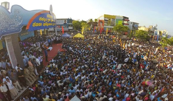 Solid Activity Against SLFPers who Went to Nugegoda Rally