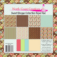 North Coast Creations Sweet Shoppe Paper Collection