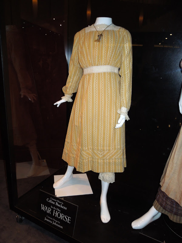 Celine Buckens War Horse movie dress