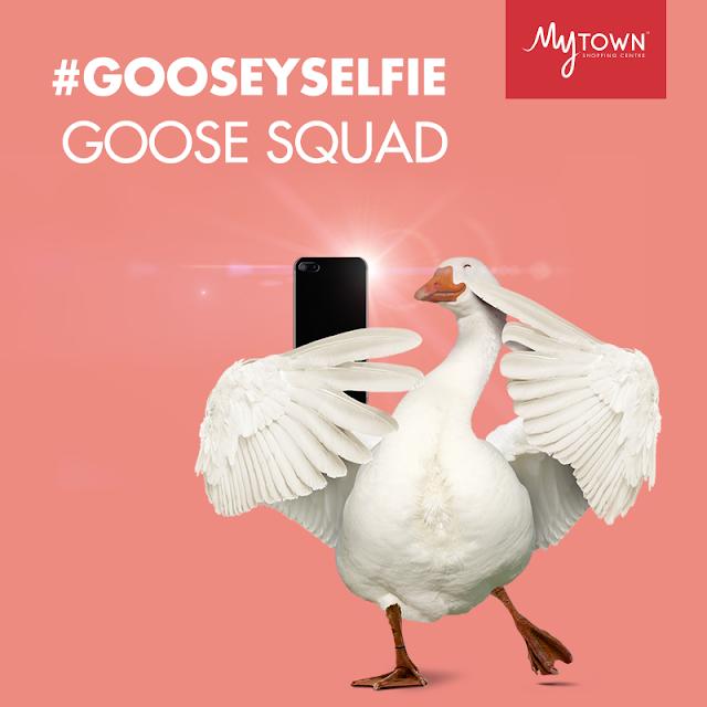 Hadiah Hebat Contest #GooseySelfie Anjuran MyTOWN Shopping Centre
