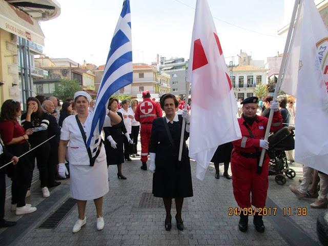 Συμμετοχή του Ελληνικού Ερυθρού Σταυρού στις εορταστικές εκδηλώσεις της 196ης Επετείου της Άλωσης της Τριπολιτσάς