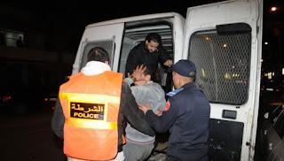 La police Marocaine a interpellé un dealer en possession de  kilos de résine de cannabis