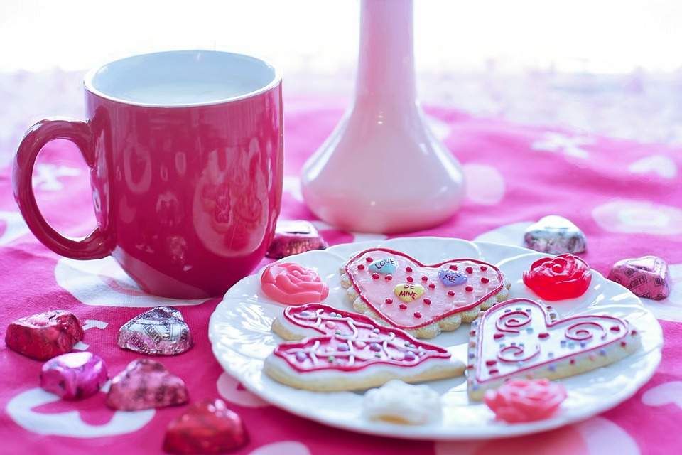 Valentine's Day cookies and place setting.jpeg