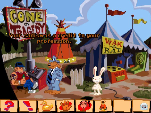 Sam & Max Hit the Road Full Version For PC
