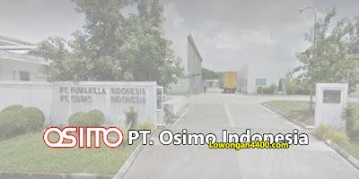 Lowongan Kerja PT. Osimo Indonesia Karawang Tahun 2020