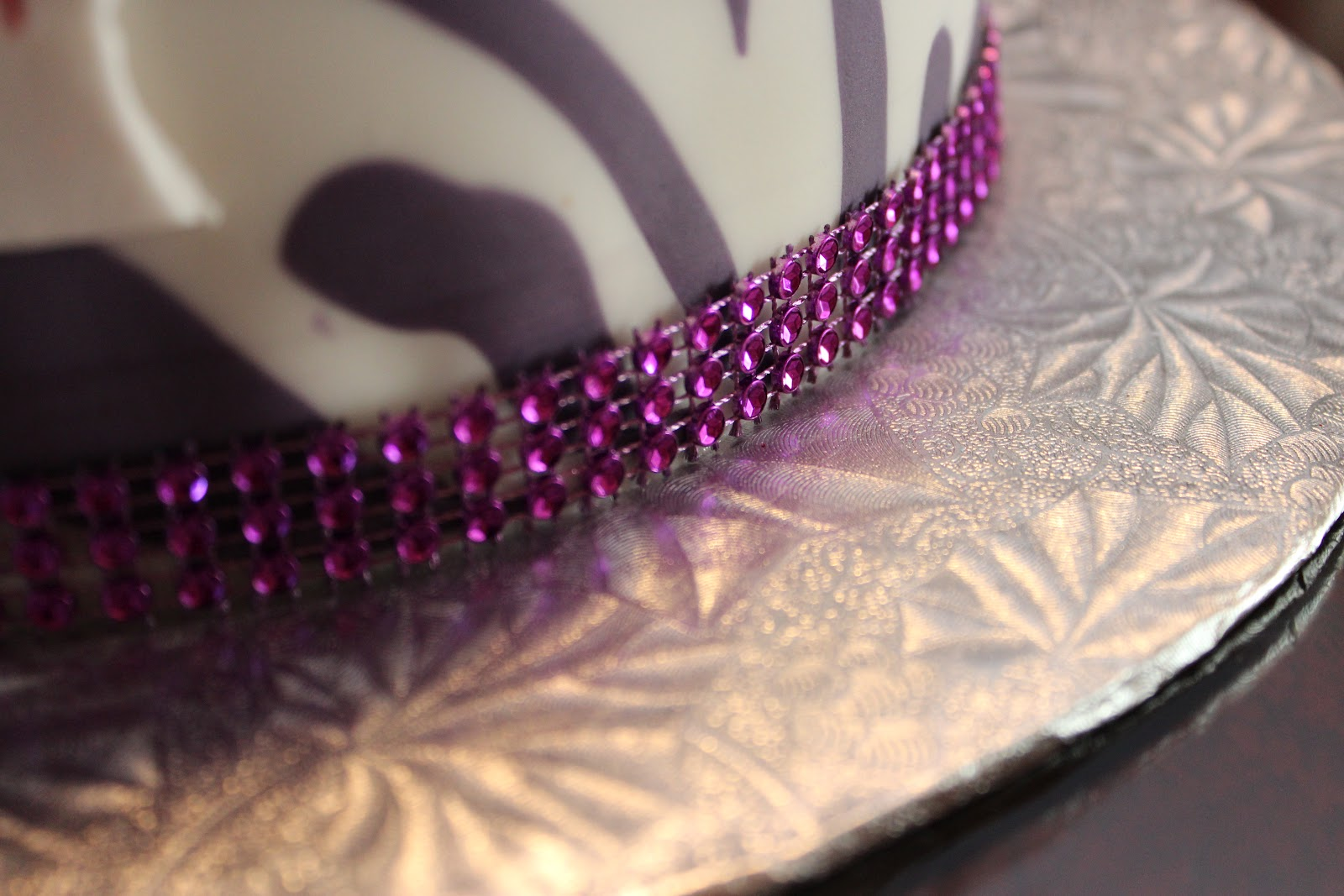 Zebra Cake Recipe Joy Of Baking: Love Dem Goodies: Purple And White Zebra Cake