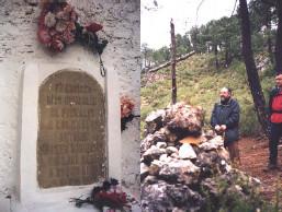 Tumba y lugar de muerte de Pernales