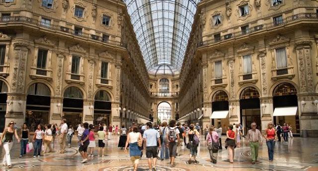 Informações sobre a Galeria Vittorio Emanuele II em Milão