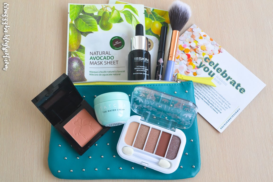 Ipsy Glam Bag March 2020 Review Photos