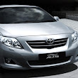 Toyota Altis Auto Saloon 1.8 New Model (5 Seaters) - RM250 per day